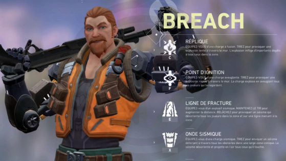 Valorant: Breach, the new agent and his skills