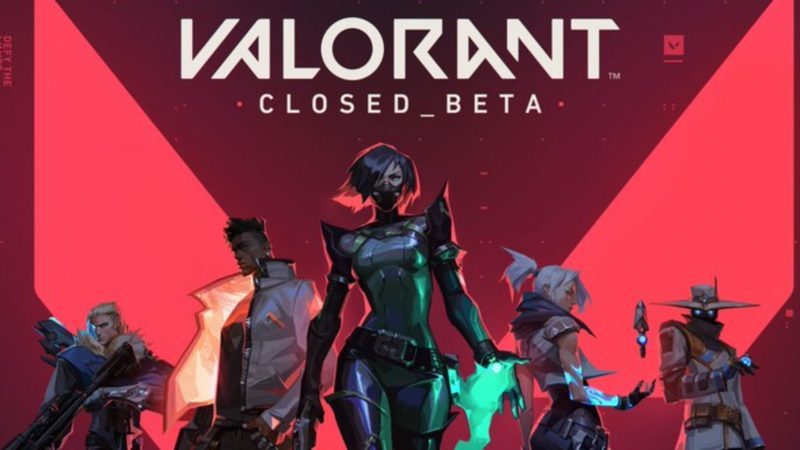 Valorant's closed beta finds a date